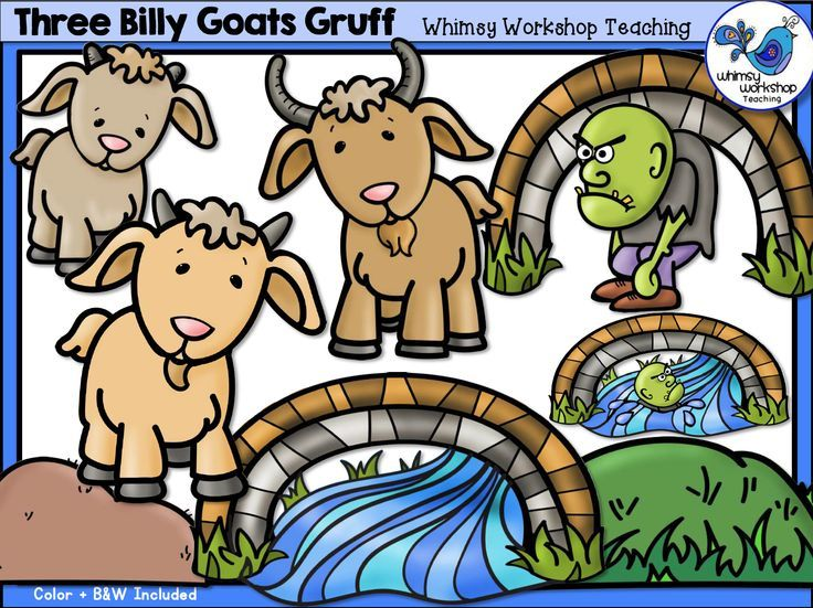 Billy Goat clipart three Of features set Fairy is