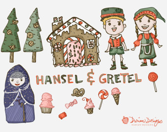 Witch clipart fairytale Hansel witch clipart tale Gretel