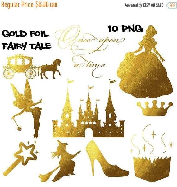 Witch clipart fairytale Spell SALE 50% clipart foil