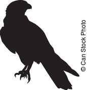 Falcon clipart Falcon royalty Falcon Clip of