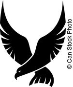 Falcon clipart strong  Falcon Falcon cartoon Black