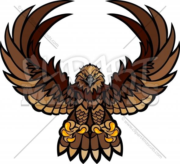 Falcon clipart hawk #9