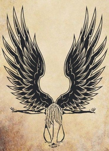 Fallen Angel clipart Downloads ideas art stamp wall