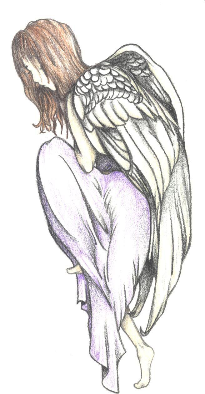 Fallen Angel clipart deviantart For  Cartoon Angel 43