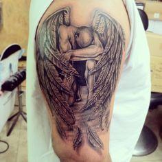Fallen Angel clipart flash angel Fallen on Tattoo  Right