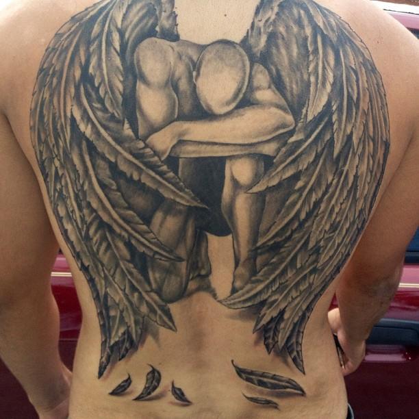 Fallen Angel clipart grey Tattoo Ink Angel Angel Fallen