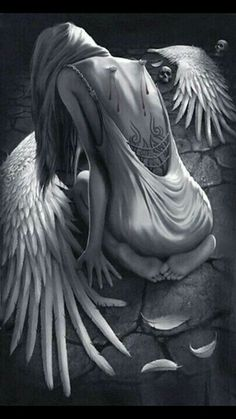 Fallen Angel clipart grey Fallen fallen  from Tats