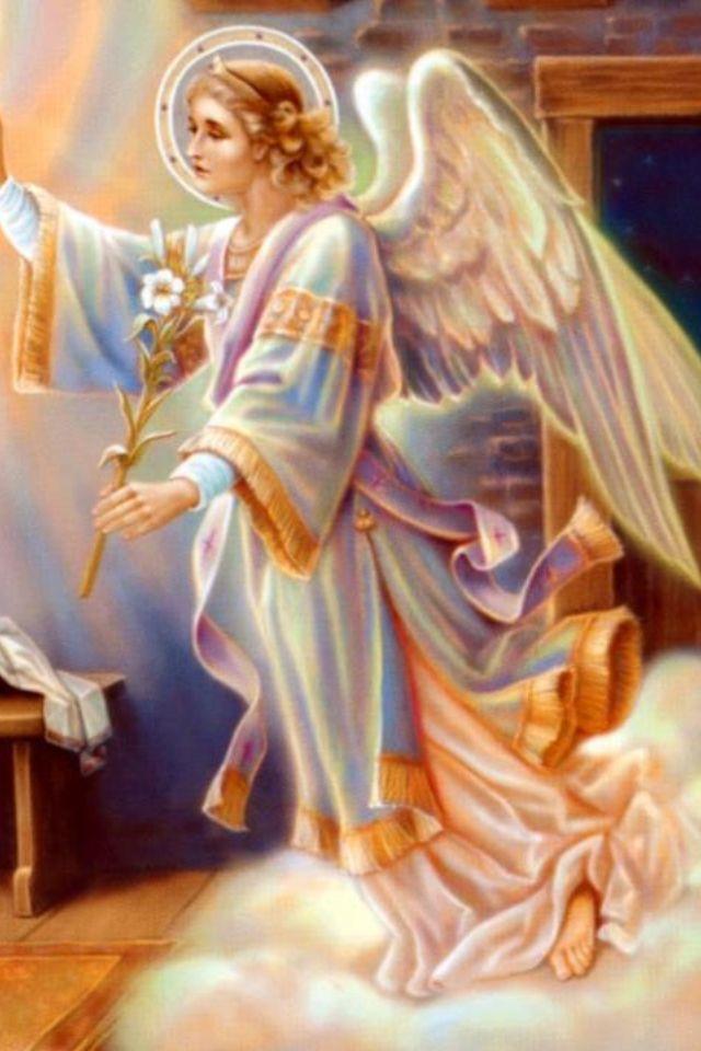Fallen Angel clipart holy angel The Gabriel messenger Angel glad