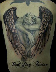 Fallen Angel clipart holy angel Angel Holy Back Men Warrior