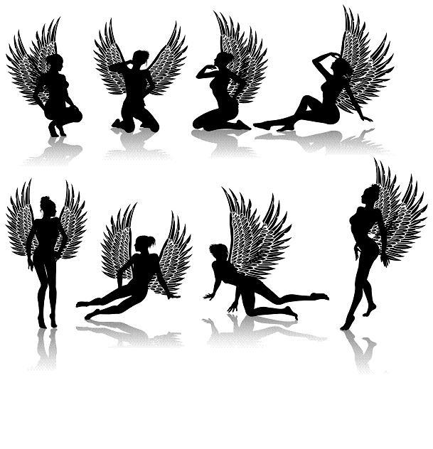 Fallen Angel clipart ink Page Tattoos Designs Designs Black