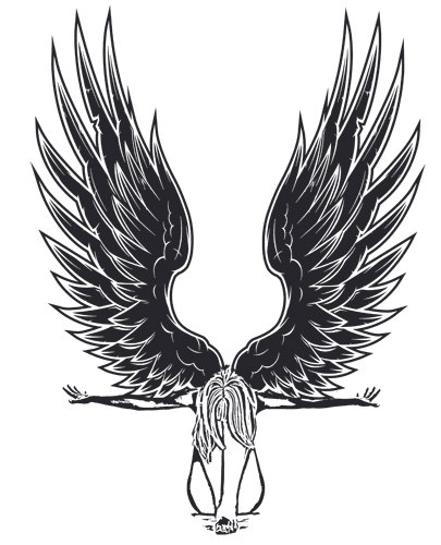 Fallen Angel clipart line art Clipart graphics Download downloads clip
