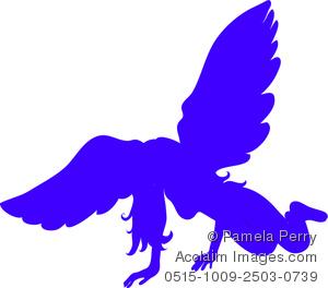 Fallen Angel clipart outline Download Blue Crest Angels Crest