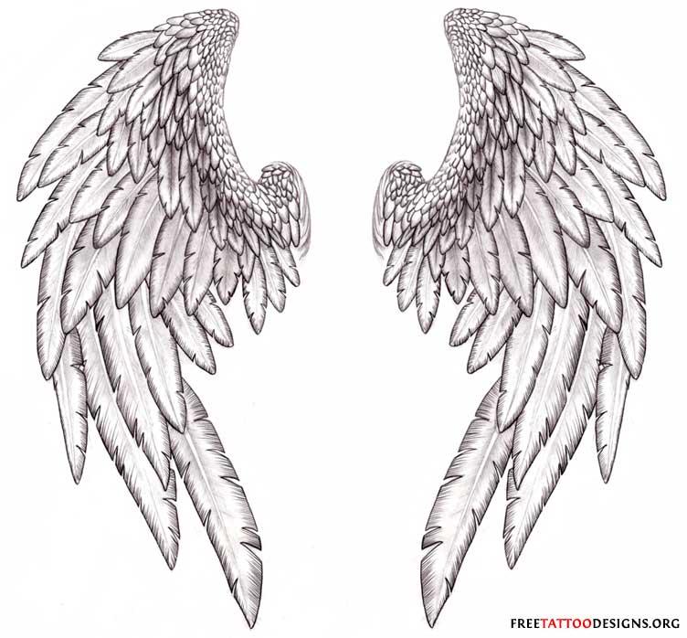 Fallen Angel clipart outline Fallen spot designs Wings angel