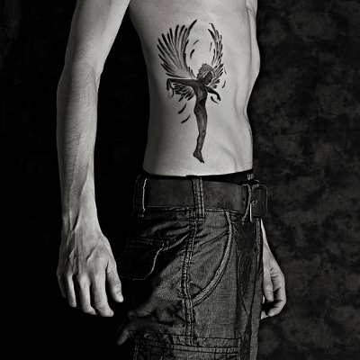 Fallen Angel clipart rib ⋆ that Remarkable tattoo Tattoos