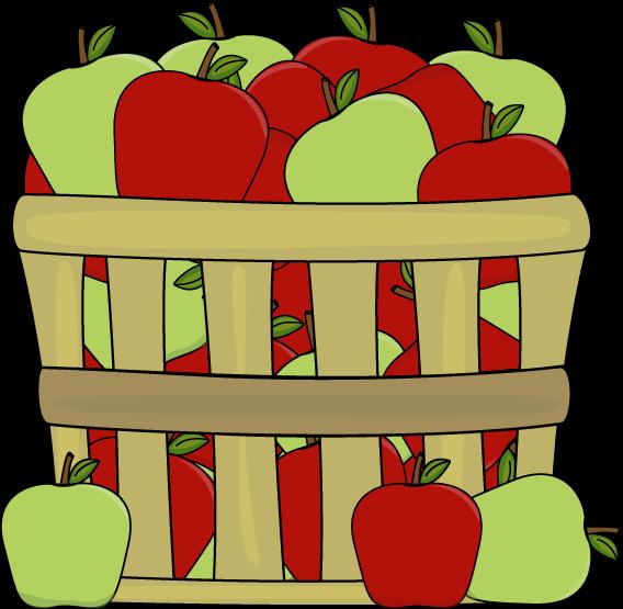 Basket clipart apple basket Red Clip Art Apples Apple
