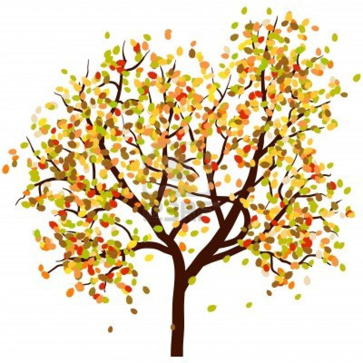 Branch clipart fall leaves Cliparts tree fallen Clipart Falling
