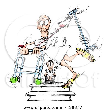 Fallen clipart Patient Falling Clipart Clipart fall clipart cartoons Elderly