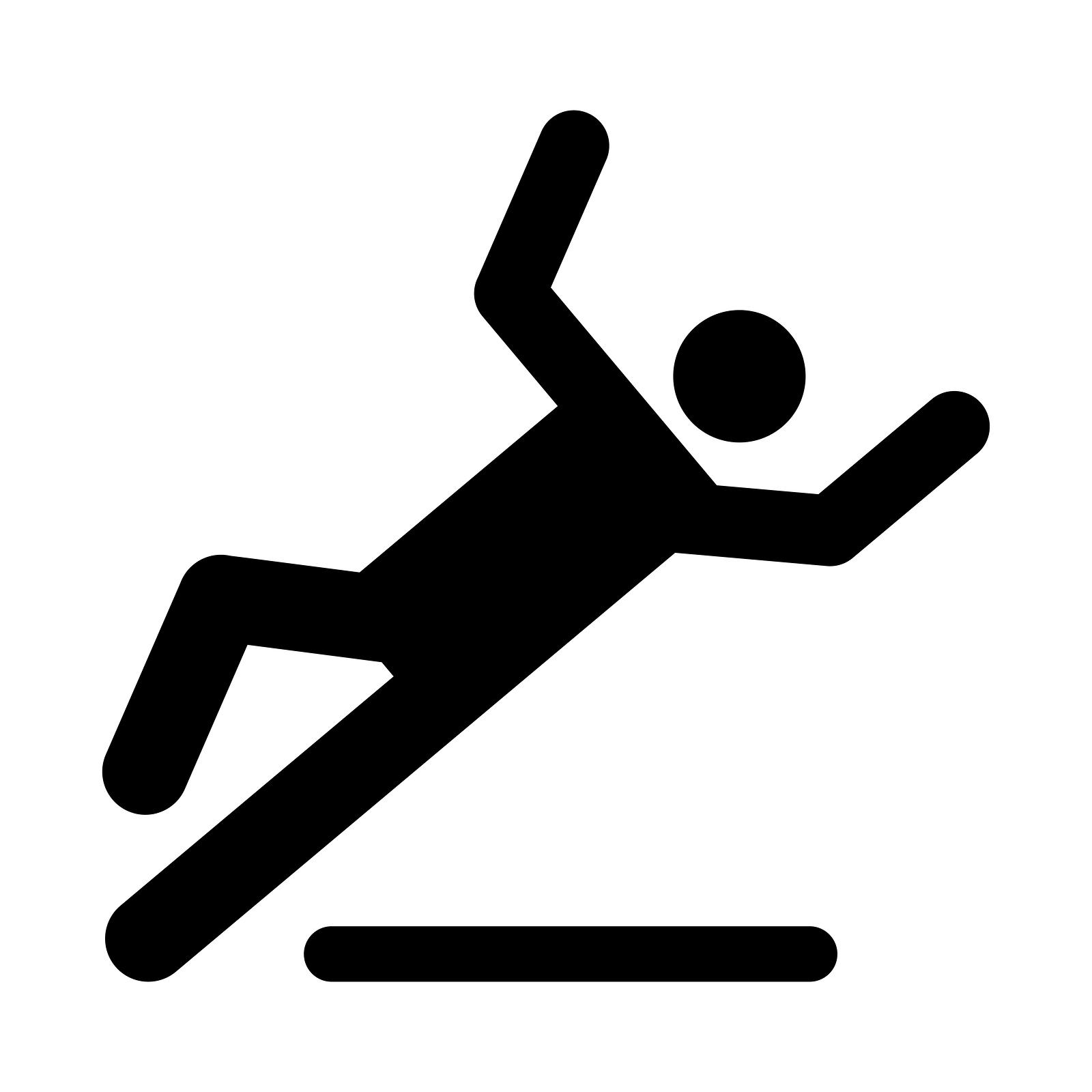 Fallen clipart Patient Falling Clipart Dolman Slip a Personal &