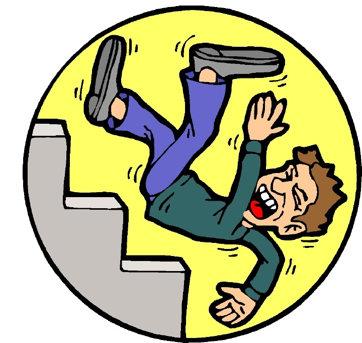 Fallen clipart Patient Falling Clipart Library Falling Cliparts Down Clip