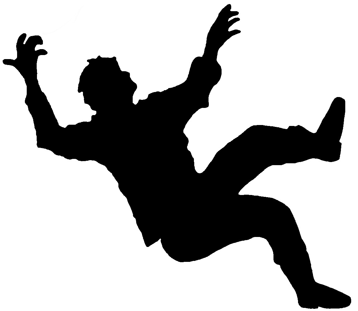 Fallen clipart Patient Falling Clipart Of Free Over For Clip