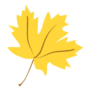 Leaves clipart yellow leaf #2