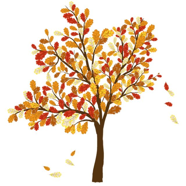 Leaves clipart fall season Fall leaves clip for art