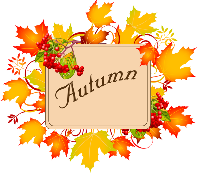 Yellow Flower clipart september flower Fall  art images autumn