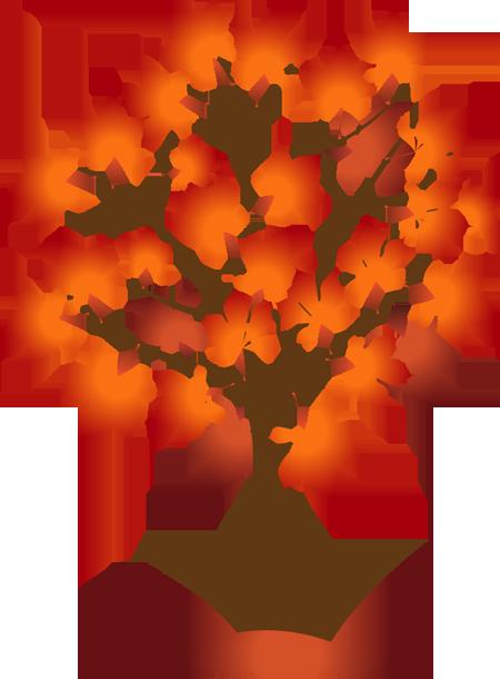 Tree clipart autum #9
