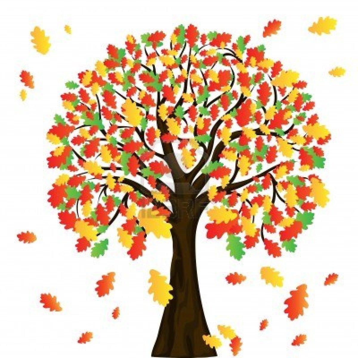 Tree clipart autum #3