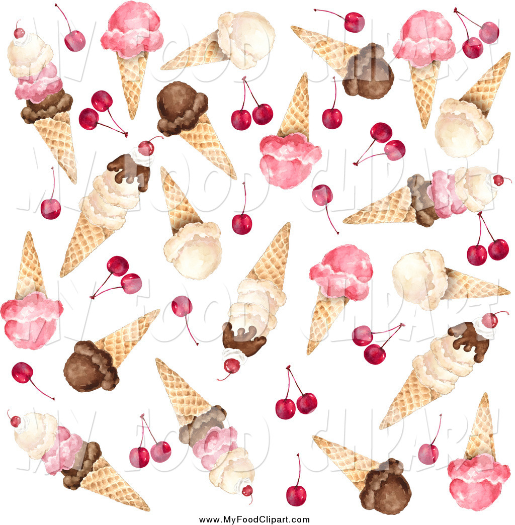 Ice Cream clipart fall Cones Food of  Waffle
