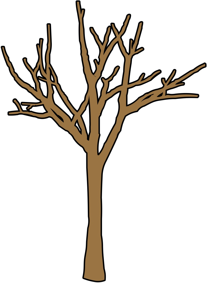 Brown clipart bare tree Tree Images page art Page