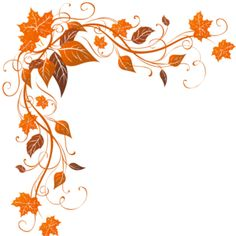 Leaves clipart corner Corner Flower com/hvairora/corners/ Flower Fall