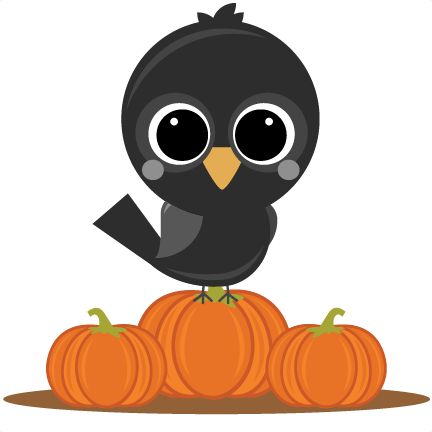 Crow clipart october Clipart and on Find Pin