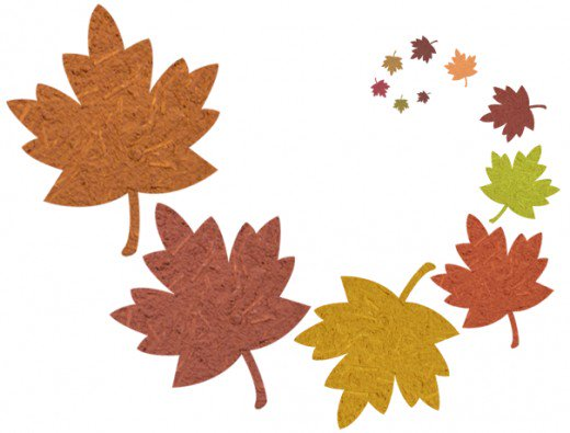 Wind clipart falling leave HubPages Fall Art Clip Images
