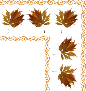 Leaves clipart corner Beautiful of Clipart corner corner