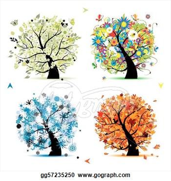 Season clipart autumn winter #2
