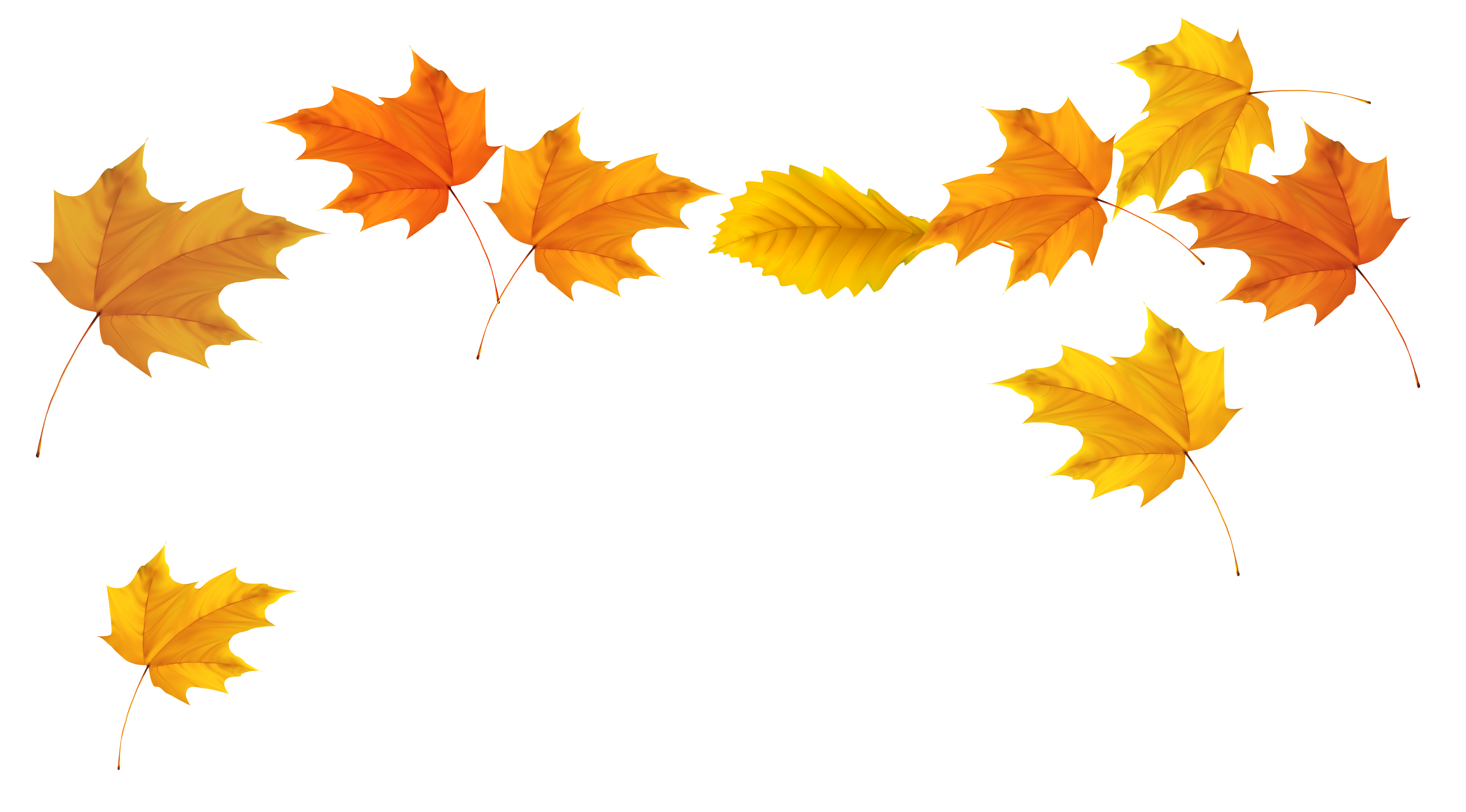Wind clipart falling leave Images falling leaves free clipartcow