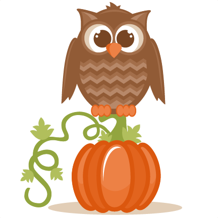 Owl clipart pumpkin Svgs files SVG pazzles for