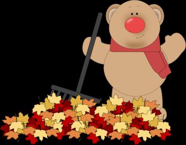 Bear clipart autumn #1