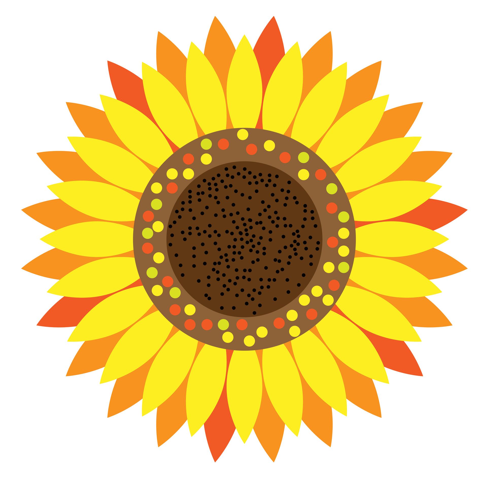 Yellow Flower clipart sunflower Sunflower Happy Sunflower Clipart Happy