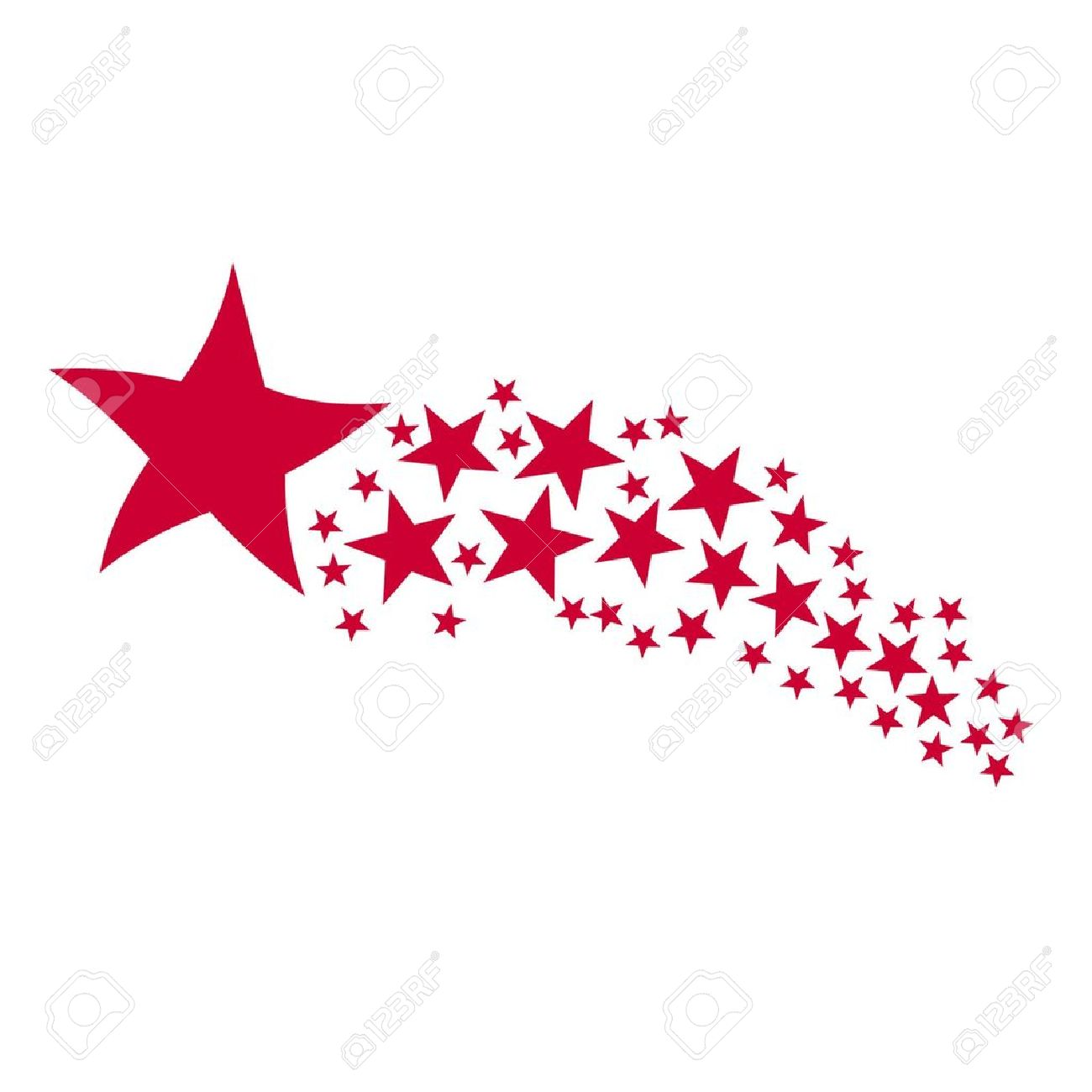 Shooting Star clipart colorful Shooting Star  stars Clipart