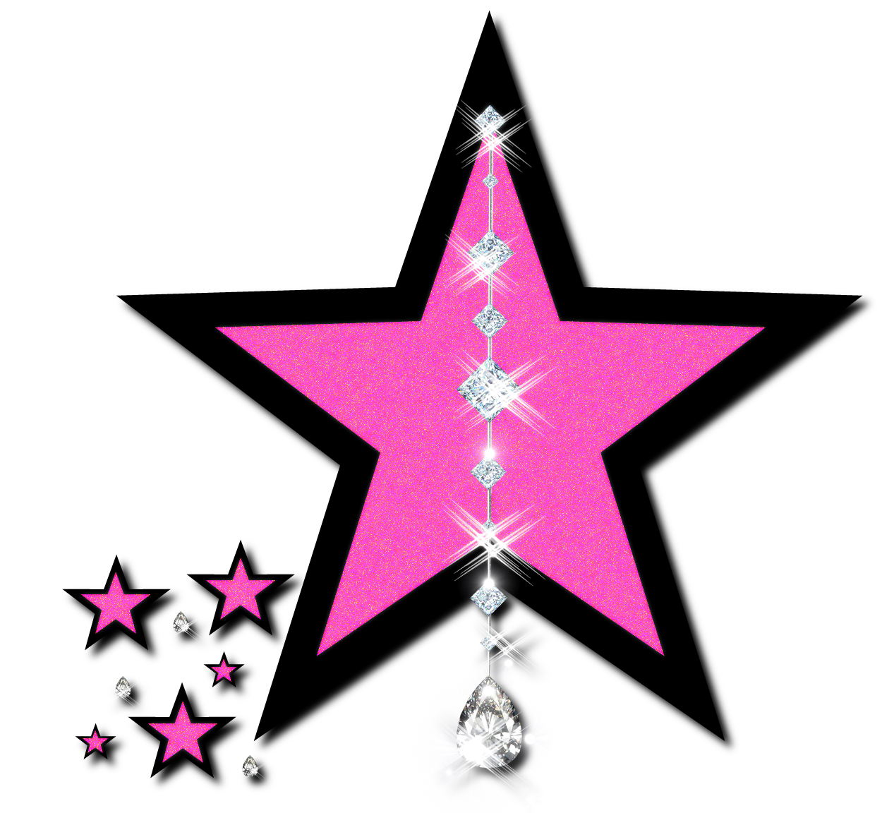 Falling Stars clipart all star  library Clipart Art All