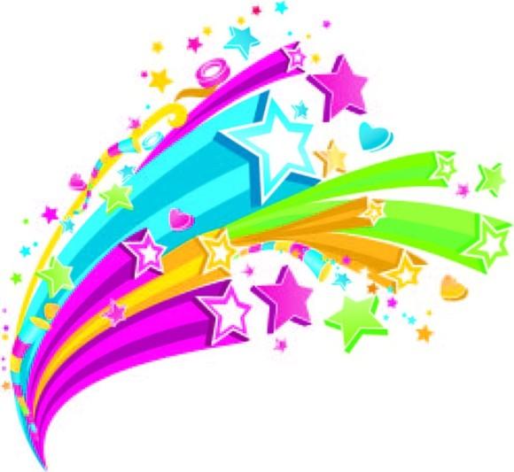 Falling Stars clipart all star · ClipartShooting Star Star Clipart