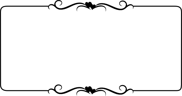Simple clipart picture frame #9