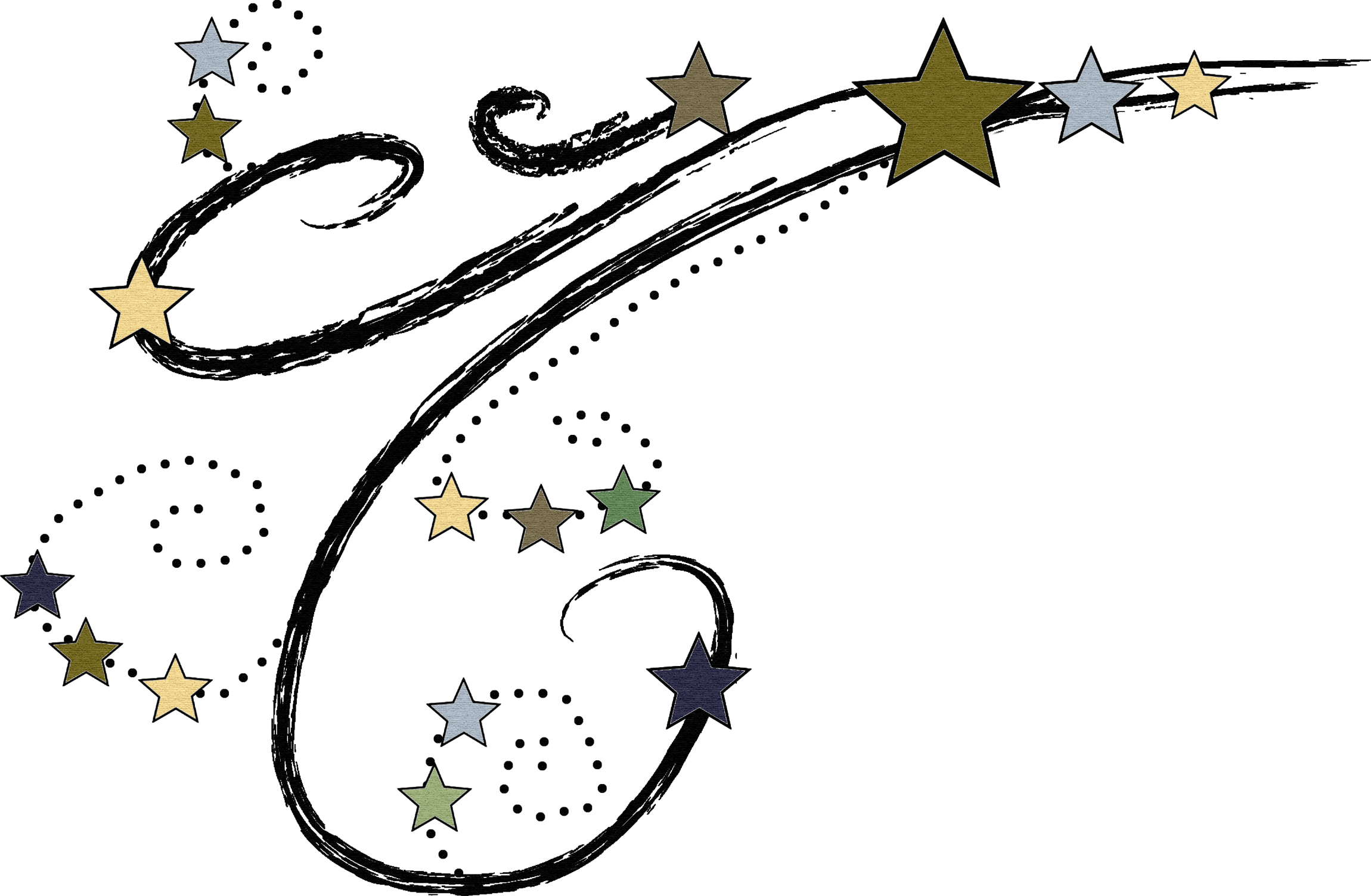 Falling Stars clipart all star On Cliparts Quality Clip 4