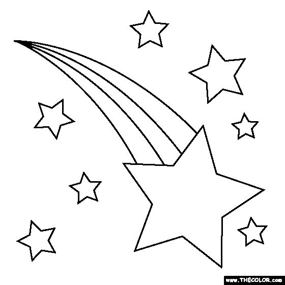 Falling Stars clipart art deco Craft this Shooting Find Pin