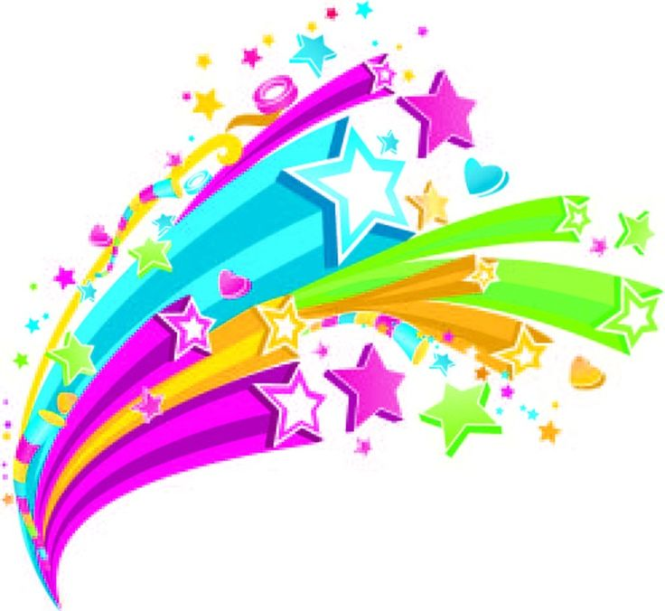 Falling Stars clipart art deco Stars shooting 30 about on