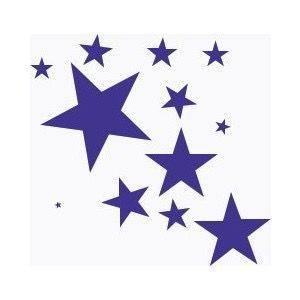 Falling Stars clipart blue star Ster Stars Art ideeën 25+