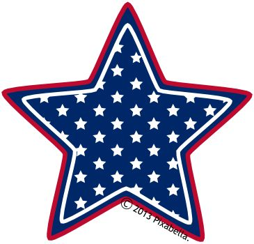 America clipart american star A clipart from Pinterest 25+