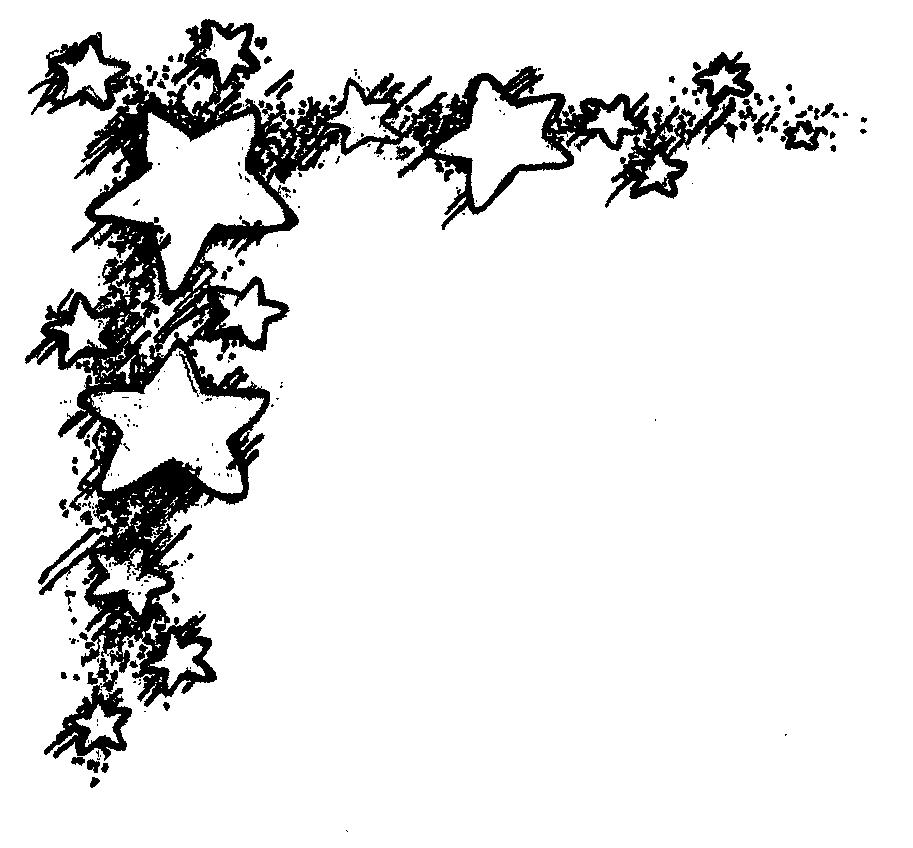 Falling Stars clipart border Clip Border Free Art Clip